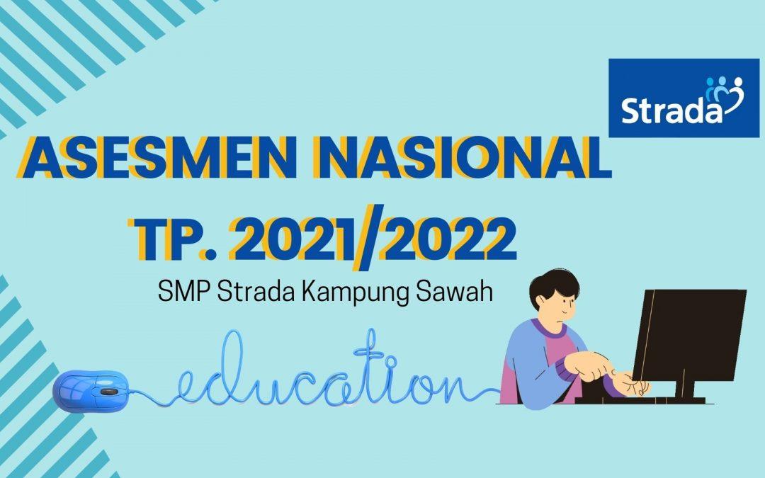 Pelaksanaan ANBK di SMP Strada Kampung Sawah TP. 2021/2022